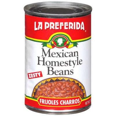 La Preferida Bean Frijole Charros Home Styl 15 Oz. Case of 12