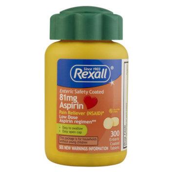 Rexall Aspirin Tablets - 81 mg, 300 ct
