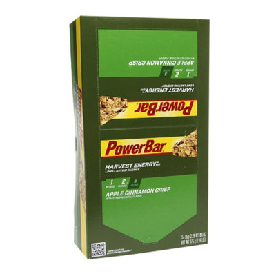 PowerBar Harvest Whole Grain Long Lasting Energy Bars Apple Cinnamon Crisp