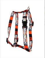 Yellow Dog Design H-HH101SM Happy Halloween Roman Harness - Small/Medium