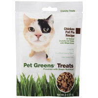 Bell Rock Growers Pet Greens Treats Chicken Pot Pie Crunchy Cat Treat