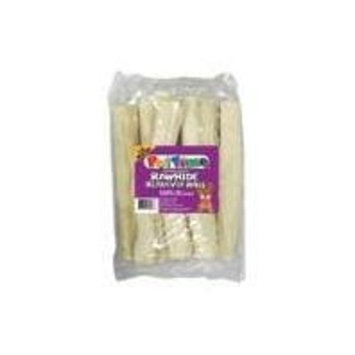 Ims Pet Industries Pet Time Rawhide Retiever Rolls Natural Value Pack 10in/8pk