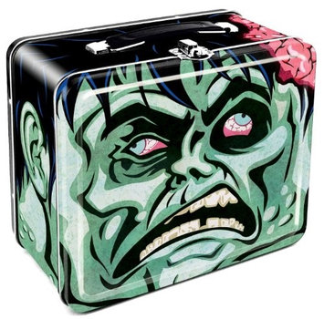 Aquarius Lunch Box - Zombie - Head Tin Case Licensed Gifts Toys48042