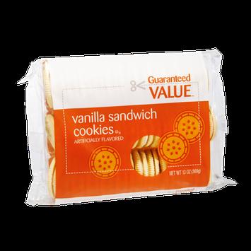 Guaranteed Value Vanilla Sandwich Cookies