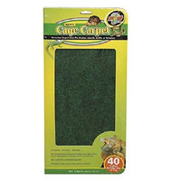 Zoo Med Reptile Cage Carpet for 40 Gallon Tanks, 36 x 15-Inches