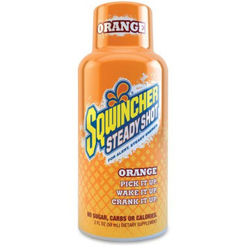 Sqwincher 200500OR 2 Oz. Orange Steady Shot Energy Drink (12 Pack)