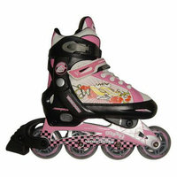 Mongoose In-Line Girls Skates - Black/Pink (S)