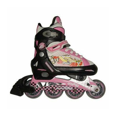 Mongoose In-Line Girls Skates - Black/Pink (S)