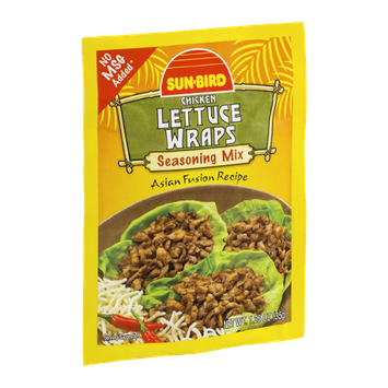 Sun-Bird Seasoning Mix Chicken Lettuce Wraps