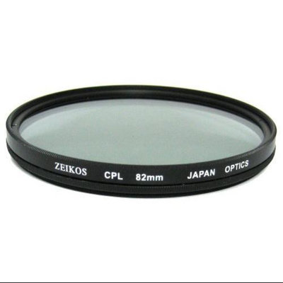 Zeikos 82mm Circular Polarizer Glass Filter
