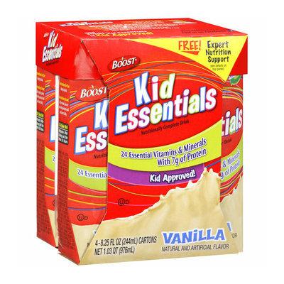 Boost Kid Essentials Vanilla Nutritionally Complete Drink