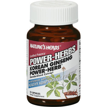Nature's Herbs Power Herbs Korean Ginseng Capsules