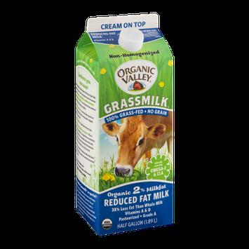 Organic Valley Grassmilk 2% Reduced Fat Milk