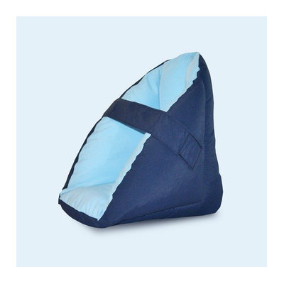 NYOrtho Quilted Heel Protector in Navy / Light Blue