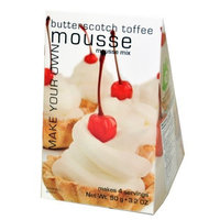 Foxy Gourmet Butterscotch Toffee Mousse Mix, 3.2-Ounce Boxes (Pack of 3)