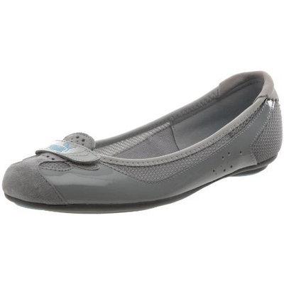 PUMA Women's Zandy Ballet Flat [Steel Grey/Limestone Grey/Silver, 5.5 B(M) US]