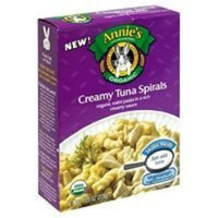 Annie's Homegrown Organic Creamy Tuna Spirals 7.25 ounces (Pack of 12)
