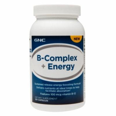 GNC B-Complex + Energy, Capsules, 120 ea