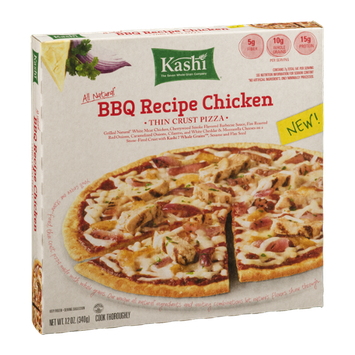 Kashi® Thin Crust Pizza BBQ Recipe Chicken