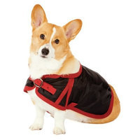 Fashion Pet Classic Country Dog Coat, Black Small