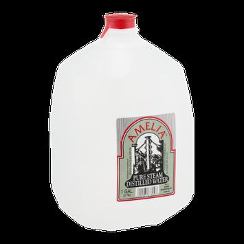 Amelia Pure Steam Distilled Water