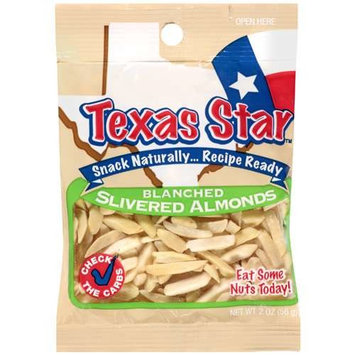 Texas Star: Blanched Slivered Almonds, 2 Oz
