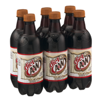 Diet A & W Root Beer - 6 CT