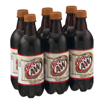 Diet A & W Root Beer - 6 CT