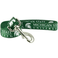 Football Fanatics NCAA Michigan State Spartans 4' Green Large Pet Leash