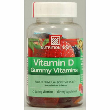 Nutrition Now Vitamin D Gummy Vitamins 75 Gummies