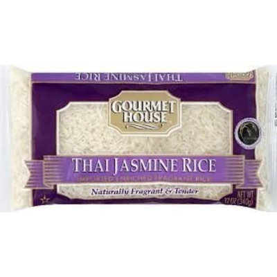 Gourmet House Thai Jasmine Rice, 12 Oz (Pack of 12)
