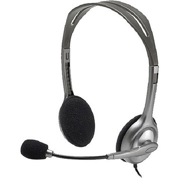Logitech DA4536S Stereo Mini-phone Wired Over-the-head Binaural Noise Cancelling H110 Headset - 20 Hz-20 kHz