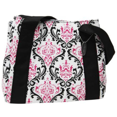 Fit & Fresh Venice Insulated Designer Bag, Pink, 1 ea