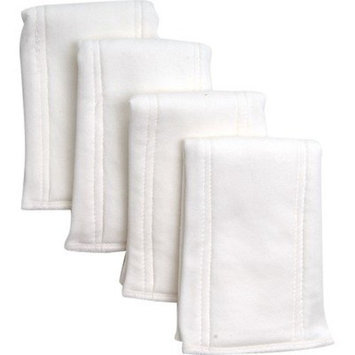 Under The Nile Pre-Fold Diaper 4 Pack, Natural (Discontinued by Manufacturer)