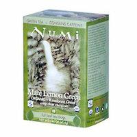 Numi Tea Numi Rainforest Green Tea Mate Lemon 18 Tea Bags Case of 6
