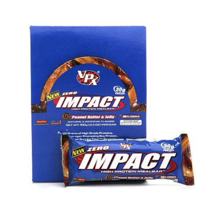 VPX Zero Impact Bars Peanut Butter & Jelly