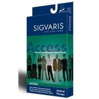 Sigvaris 970 Access Series 20-30 mmHg Men's Closed Toe Knee High Sock Size: X-Large Long (XL)