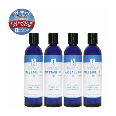 Master Massage 8 Oz Massage Oil (Pack of 4)