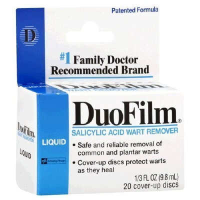 DuoFilm Liquid Wart Remover 1/3 Fl Oz By Schering-Plough (Pack of 4)