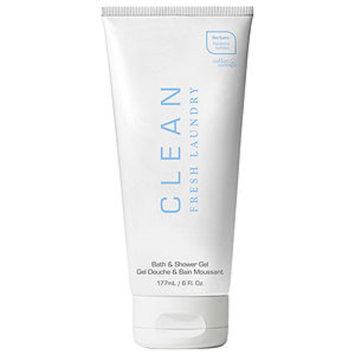 Clean Fresh Laundry CLEAN Fresh Laundry, Bath & Shower Gel, 6 oz