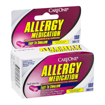 CareOne Allergy Medication Tablets - 100 CT