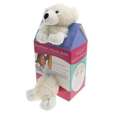 Spa Comforts by DreamTime® White Pampering Polar Bear Aromatherapy Wrap