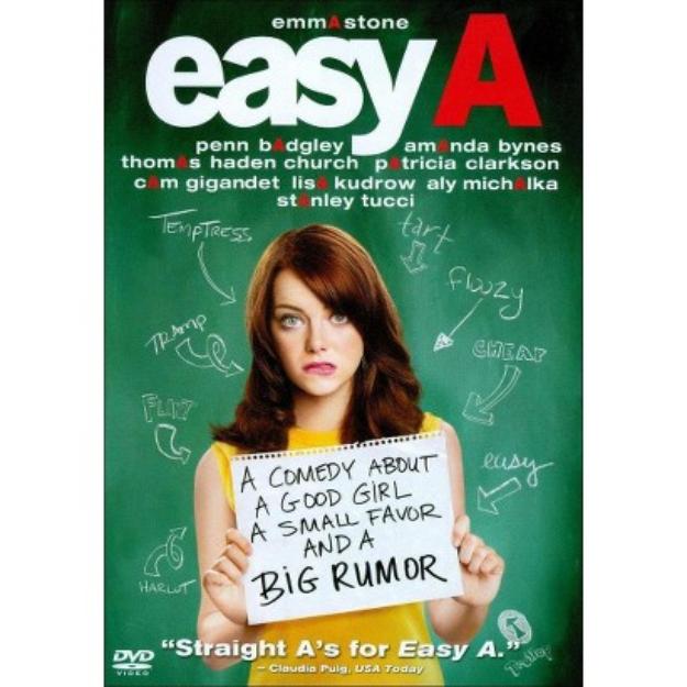 Easy A - Widescreen Dubbed Subtitle AC3 - DVD