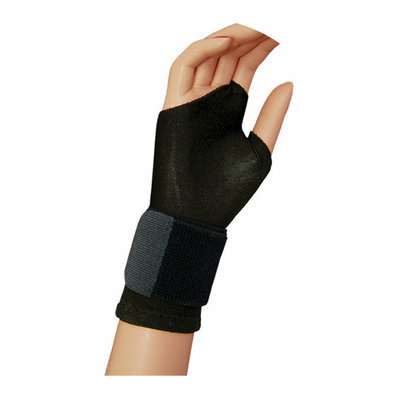 Bell-Horn Support Gloves in Black (Pair)