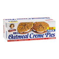 Little Debbie Oatmeal Creme Pies - 12 CT