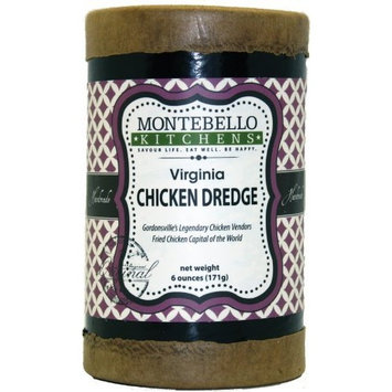 Montebello Kitchens Virginia Chicken Dredge, 6-Ounce (Pack of 2)