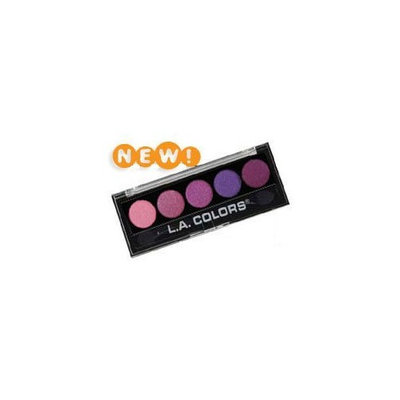 L. A. Colors 5 Color Metallic Eyeshadow 106 Lollipop