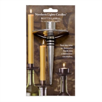 Wine Enthusiast Wine Bottleabra (for Taper Candle)