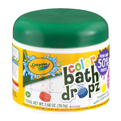 Crayola Bath Dropz Color