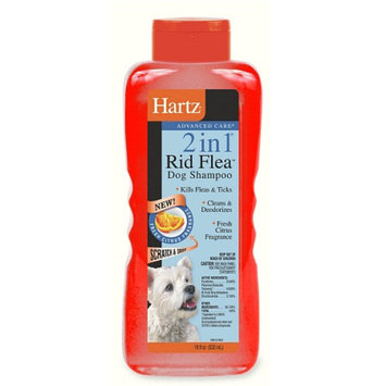 Hartz Advanced Care  2in1 Flea and Tick Dog Shampoo
